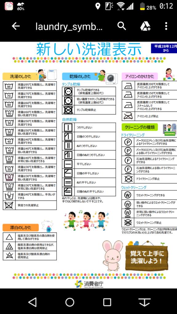 screenshot_消費者庁洗濯表示