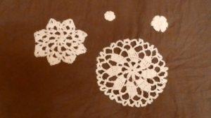 かぎ針編みのモチーフ