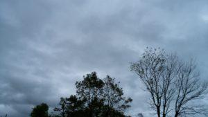 台風16号空
